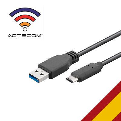 ACTECOM® CABLE TIPO C 3.1 CON USB 3.0 ALTA VELOCIDAD CARGA RÁPIDA...