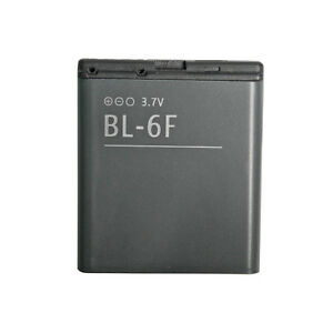 BL 6F BL-6F replacement backup Battery For Nokia N78 N79 N95