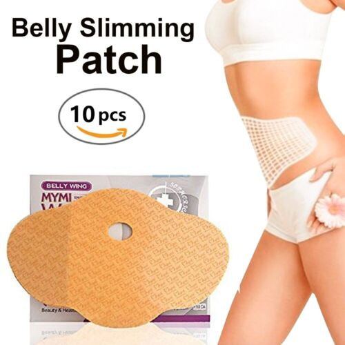 10Pcs Slimming Patch Belly Abdomen Weight Loss Burning Fat US Fat Burners
