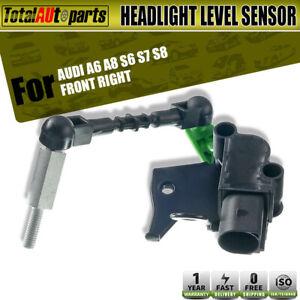 Front Right Passenger Headlight Level Sensor for Audi A6 A8 S6 S7 S8 4H0941286G