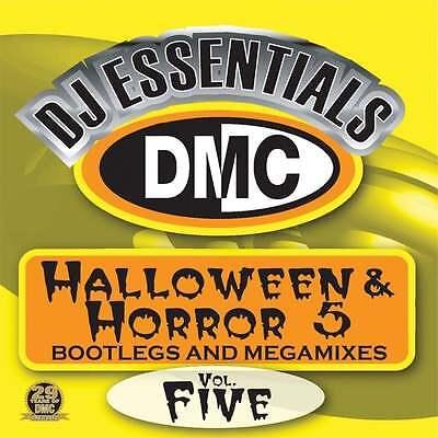 DMC Halloween & Horror Vol 5 Megamixes & 2 Trackers Mixes Remixes DJ CD - Halloween Musics Remix