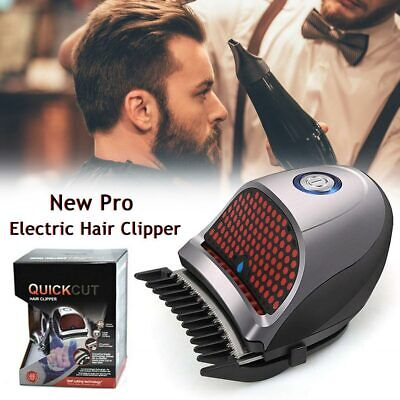 Quick Cut Mini Rechargeable Washable Trimmer Electric Hair Clipper Cord Cordless