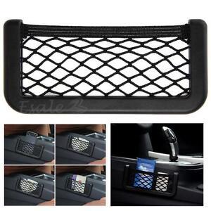 filet support sac poche de rangement organisateur bagage t l phone voiture ebay. Black Bedroom Furniture Sets. Home Design Ideas