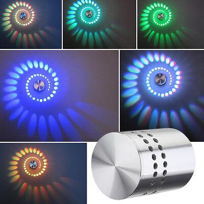 AGM RGB 3W Wandlampe Wandleuchte Effektlicht Flurlampe Deckenlampe Deckenleuchte