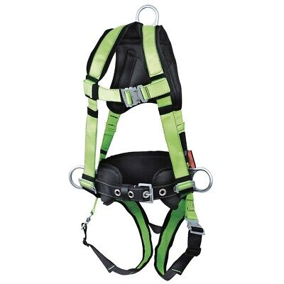 Peakpro Harness With Positioning Belt And Trauma Strap - 3d - Cl. Ap - Size L