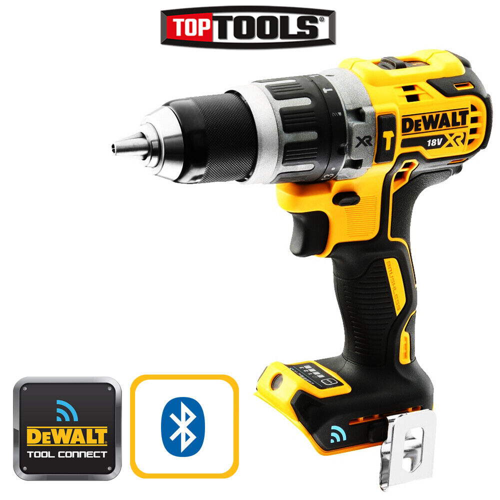 DEWALT DCD797N COMBI DRILL 18V BRUSHLESS TOOL CONNECT BLUETOOTH BODY ONLY