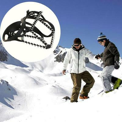 Anti Slip Ice Snow Shoes Walk Traction Cleats Grip Boots Chain Crampons Grippers