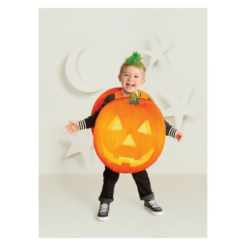 Kids Hyde and Eek Boutique Pumpkin Halloween Costume One Size Girls Boys