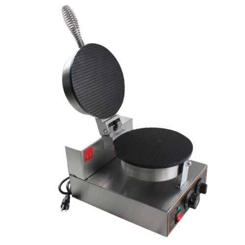 1200W Electric Ice Cream Cone Waffle Maker Machine Nonstick