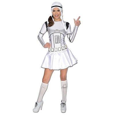 Star Wars STORMTROOPER SEXY Adult Womens Costume HALLOWEEN Cosplay Cute Sci-fi - Sci Fi Halloween Costume