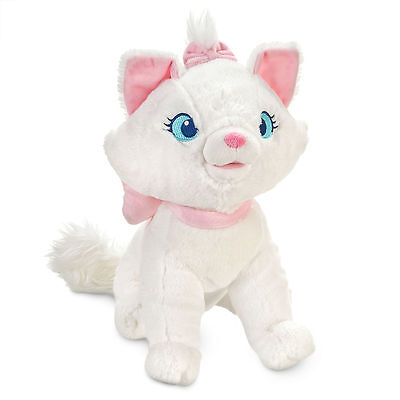 Disney Authentic Aristocats Marie White Cat Big Plush Soft Toy Doll 12