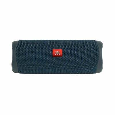 JBL Flip 5 Portable Speaker - Blue Bluetooth Waterproof Splashproof