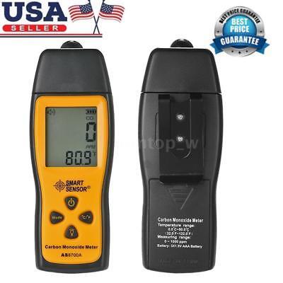SMART SENSOR LCD Carbon Monoxide Meter Detector CO Gas Tester Monitor 0-1000ppm
