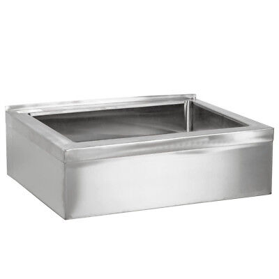 25 Stainless Steel Nsf One Compartment Floor Mop Sink - 20 X 16 X 6 Bowl