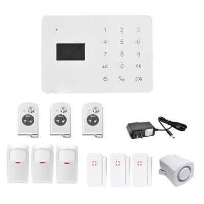 GSM Alarm System Security Intelligent Home Wireless Timing arming disarming