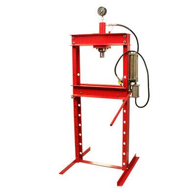 20 Ton Air Floor Hydraulic Shop Press 1 Year  Warranty