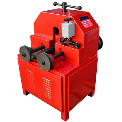 110 Volt Electric Tube Pipe Bender Roller Round-58-3 Square-58-2 1400 Rpm