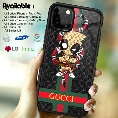 Case iPhone 6s X XR XS Guccy44RCases 11 Pro Max/Samsung Galaxy S20 S10 Deadpool