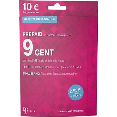 Magenta Mobil Start Prepaid Karte 10 Euro Startguthaben Telekom D1 Xtra Neuware