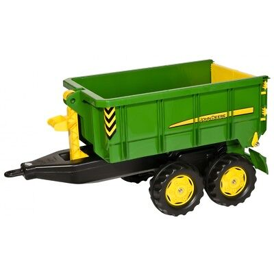 Rolly Toys John Deere Container Kipper Anhänger Dreiseitenkipper grün (John Deere Container)