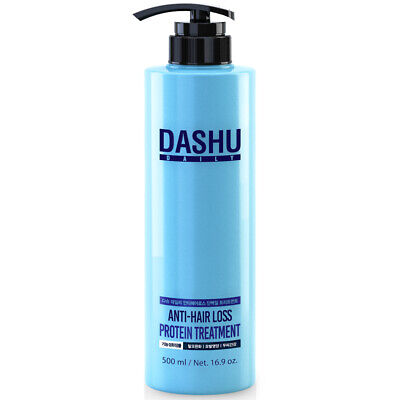 DASHU Daily Anti Hair Loss Protein Treatment 500ml Smoothing Hair Care K beauty