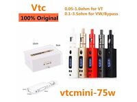 NEW Jomotech E Cigarette Lite electronic 75W 4ML Vaporizer Sub Ohm Cig Tank UK