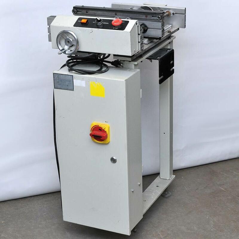 "CTI Conveyor Technologies CC-16I-1-DC-0640 16"" 0.4m PCB Conveyor Workstation"