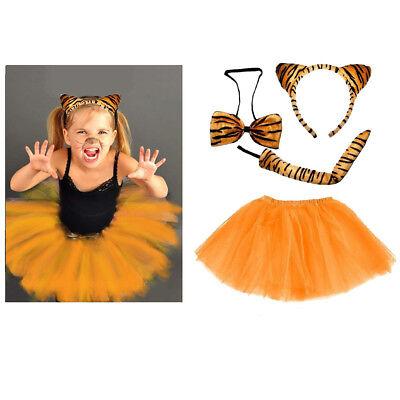en Damen Verkleiden Fasching Karneval Dress Up Halloween  (Mädchen Tiger Halloween-kostüm)