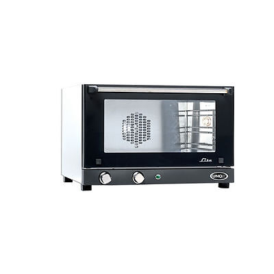 Cadco Unox Lisa - Manual Small Convection Oven Xaf 013 120v 3 Shelf New In Box