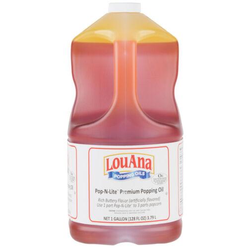 LouAna 1 Gallon Pop-N-Lite Popping Oil