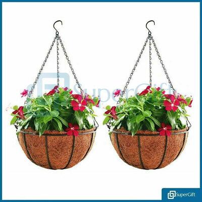 Hanging Flower Pot Hanger Flower Pot Holder Basket Rope Plant Hanger 2 Georgian