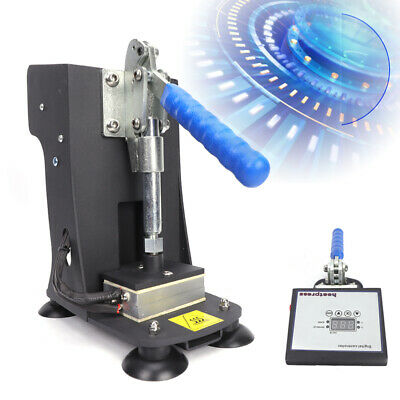 Rosin Press Machine Digital Temp Controller 2x3 Plate Set Kit Hand Crank