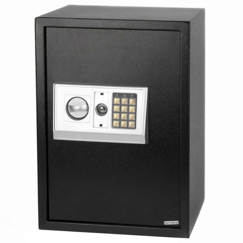 "13.8"" Home Electronic Safe Lock Box Security Digital Keypad Jewelry Money NEW"