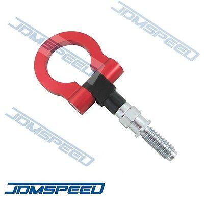 Bmw Tow Hook - RED CNC EURO RACING T2 TOW HOOK FOR BMW M E46 E81 E30 E36 E90 E91 E92 E93 1 3