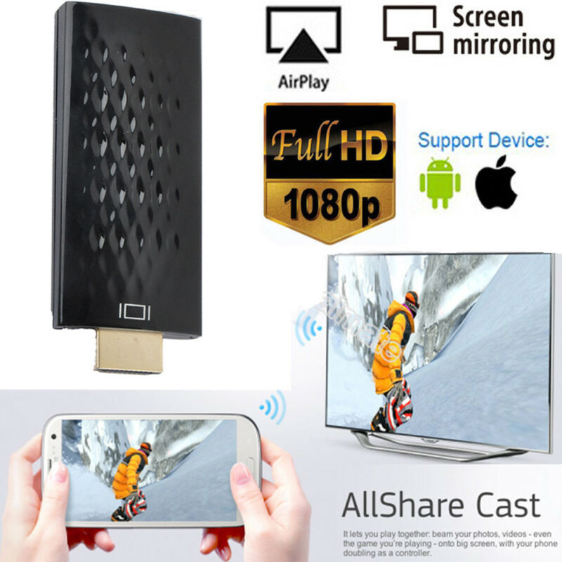 2 4g wifi wireless hdmi dongle adapter empf nger miracast. Black Bedroom Furniture Sets. Home Design Ideas