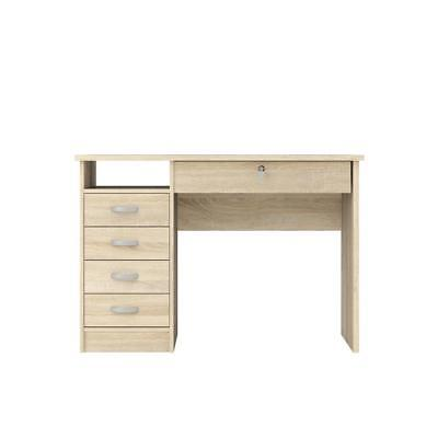 Desk With 5 Drawers Oak