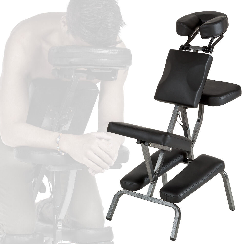 Portable Folding Massage Tattoo Chair Therapy Beauty Stool