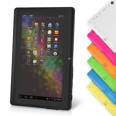 "7"" Google Android Tablet PC w/ Dual Core 8GB Cameras WiFi Multi-Touch - Vuru NEW"