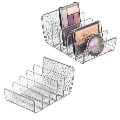 Palette Organizer Cosmetics and Accessories Vanity Storage Makeup Holder Clear