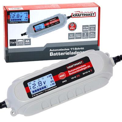 Dino KRAFTPAKET Batterieladegerät mit Batterietester 6V/12V KFZ Auto Motorrad