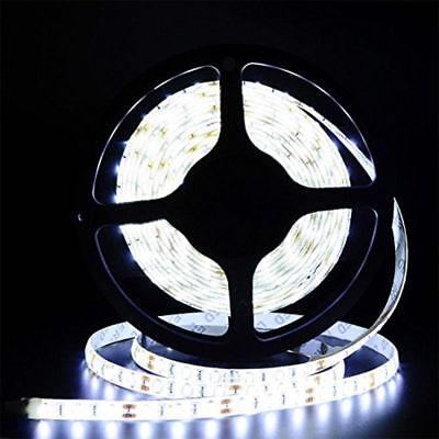 5M 5050 3528 LED Strip Streifen Band Leiste Lichterkette Kaltweiß Warmweiß 12V