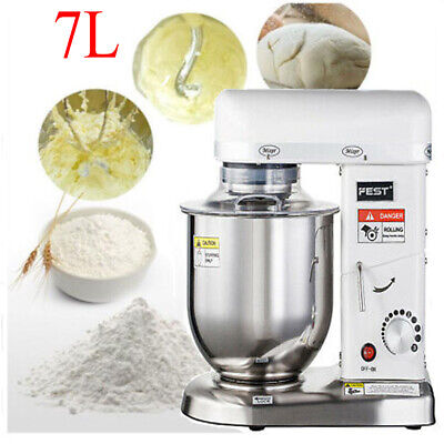 Used, 220V Commercial Food Dough Mixer 7L Stand Dough Kitchen Cake Bakery Equipment for sale  Shipping to Nigeria