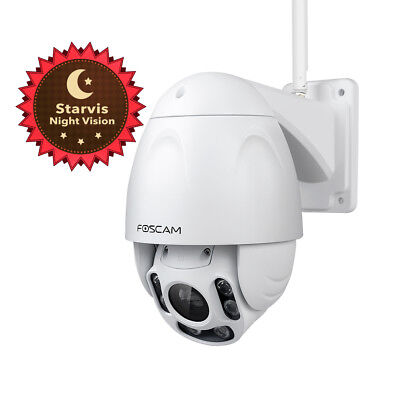 Foscam FI9928P Outdoor WiFi 2.0 MP PTZ security Camera Starvis Night Vision WDR