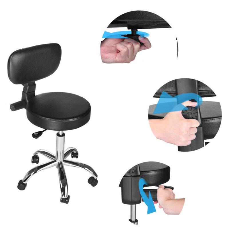 New Modern Chair PU Leather Computer Desk Task Hydraulic Black