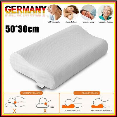 Kopfkissen Nackenstützkissen Orthopädisches Nackenkissen Foam Kissen 35X55cm