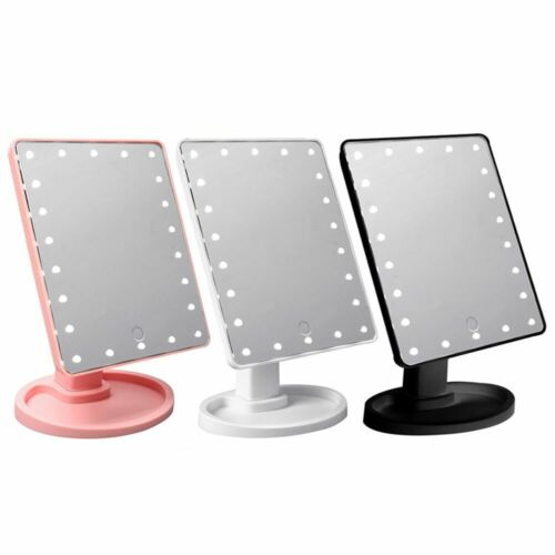 Cosmetic Illuminated Desktop Stand Makeup Mirror with Touch