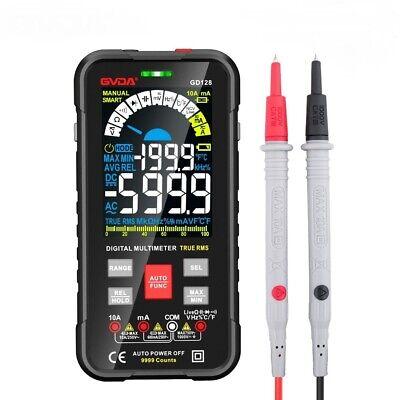 Digital Voltage Meter Capacitance Tester Rms Rel Ohm Hz Ac Dc Range 1000v 10a