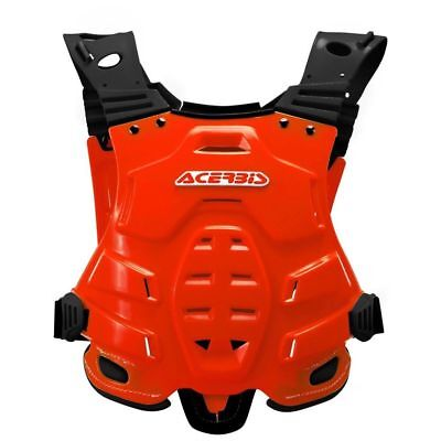 New Adult Acerbis Profile Body Armour Motocross Neck Brace Compatible Red
