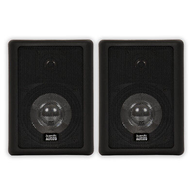 4 Inch Indoor/Outdoor Speakers - PAIR