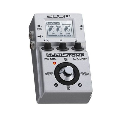 ZOOM MULTI STOMP MS-50G Multi Effects Free Shipping Tracking number NEW